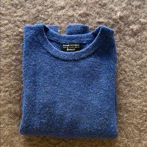 Royal Blue Banana Republic Sweater
